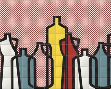 Pop Bottles Red