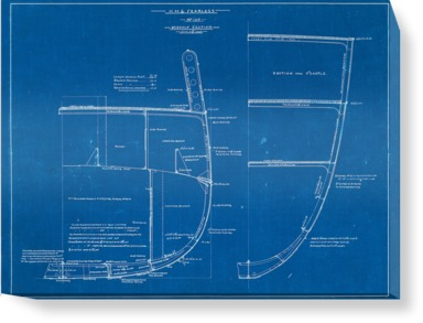 Midship Section from HMS Fearless