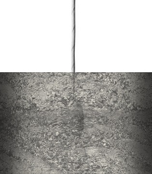 Abstract Concrete Warm