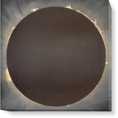 An eclipse, 1862.