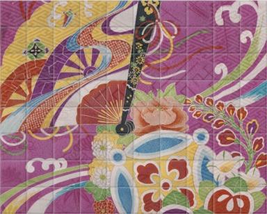 Detail of a Kimono