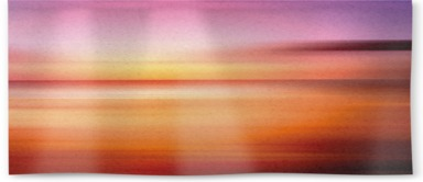 Kinetic Abstract Sunset III