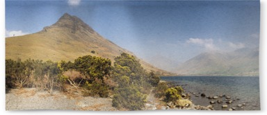 Wastwater and Scafell Pike