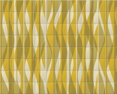 Yellow Wavey Overlay