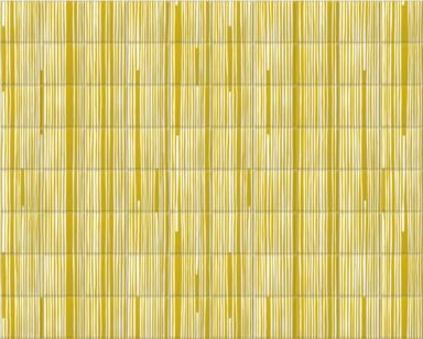 Mustard Wonky Pinstripe