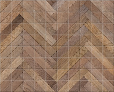 Parquet Dogtooth Detail