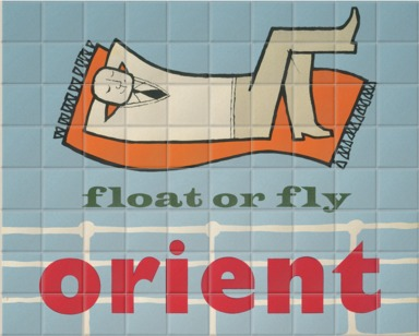 Float or fly with Orient Line