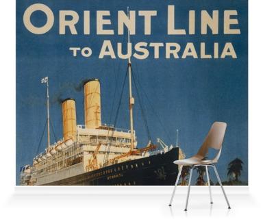 Orient Line to Australia via Suez