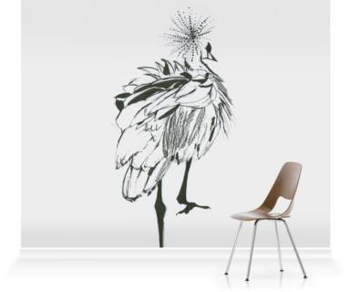 Crowned Crane I