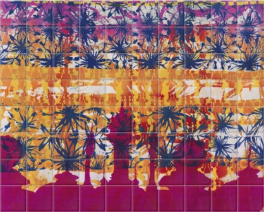 Moorish inspired print