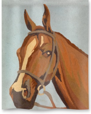 Horse Paint by Numbers 2