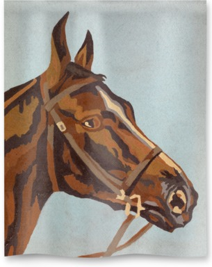Horse Paint by Numbers 1