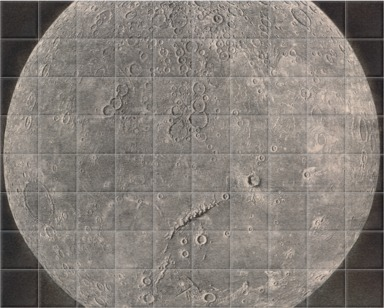 A map of the Moon
