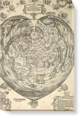 World map, 1530