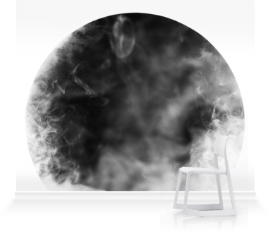 Monochrome Circle and Smoke III