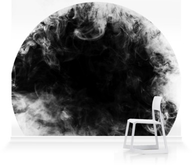 Monochrome Circle and Smoke II