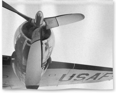 USAF Plane, Arizona