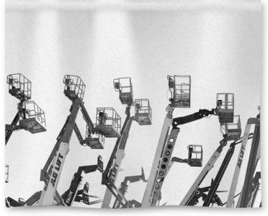 Parked Cranes, Las Vegas