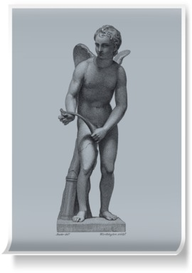 Cupid, after Praxiteles BLUE