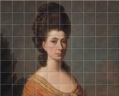 Mrs James Tassie, probably Ann Harker