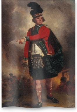 Hugh Montgomerie, 12th Earl of Eglinton, 1739 - 1819. Soldier; Lord Lieutenant of Ayrshire