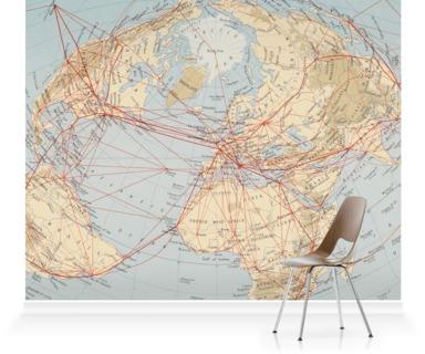 World Air Routes