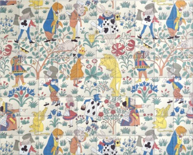 Alice in Wonderland Textile Design