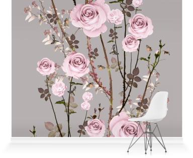 The Rose - Pink and Grey