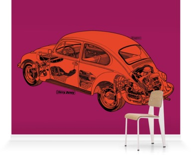 Plum/Orange Beetle