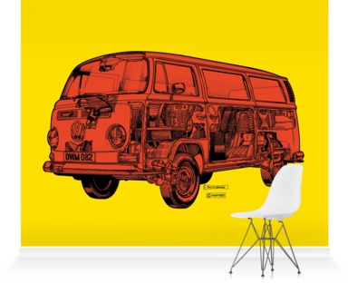 Lemon/Orange Camper Van