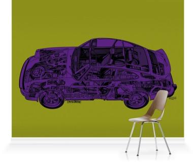 Green/Purple Porche 911