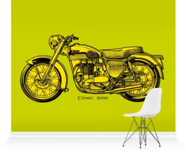 Lime/Lemon Motorcycle