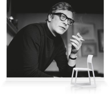 Caine Smoking