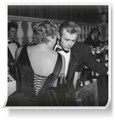 3d78862de6ab Prints of James Dean And Ursula Andress by Getty Images Gallery (800mm x  800mm)