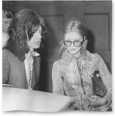 Jagger And Faithfull Leave Court