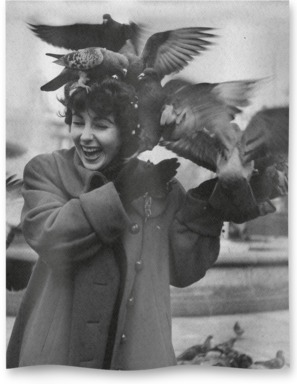 Taylor Feeds Pigeons