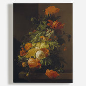 'A Vase of Flowers - Poppies and Peonies'