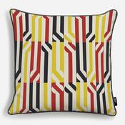 'Stripey Circle Redy Black Yellow'