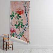 'Pink Floral Wallpaper'