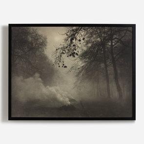 'Burning Leaves, Kensington Gardens'