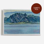 'Lake Thun and the Stockhorn Mountains'