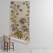 'Woodblock Floral'