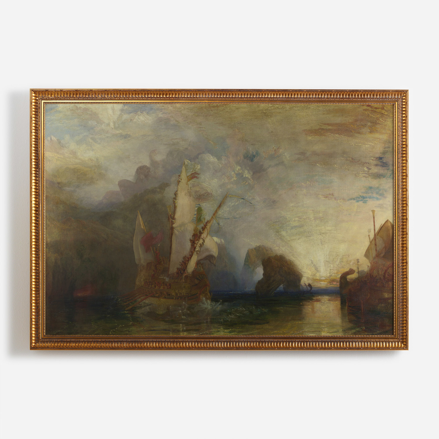 Ulysses Deriding Polyphemus Homer S Odyssey Surfaceview