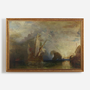 'Ulysses deriding Polyphemus- Homer's Odyssey'