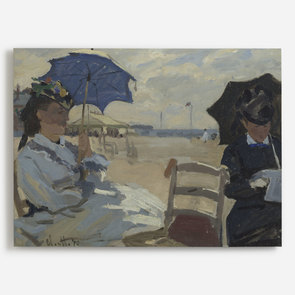 'The Beach at Trouville'
