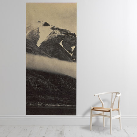 'Kunak Mountain with a Fog Bank'