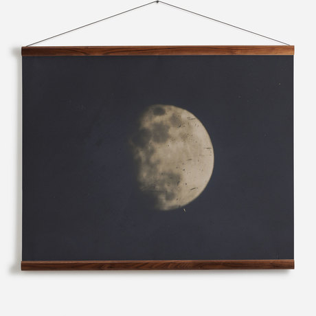 '19th century photograph of the Moon'