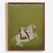 'Painting - Mounted Rajput'