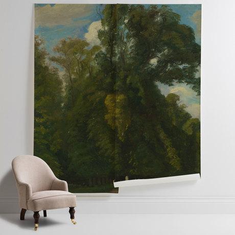 'Trees in the Park at Saint-Cloud Paul Huet'
