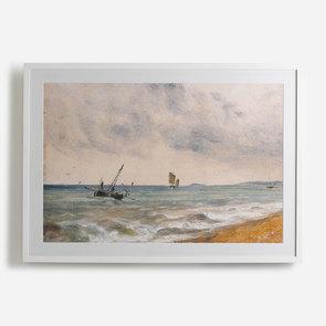 'Hove Beach; 1824'